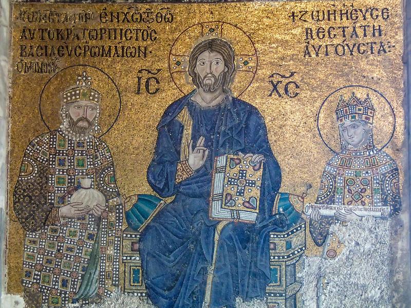 Hagia Sofia - Empress Zoe and Constantine IX - 11th centyry