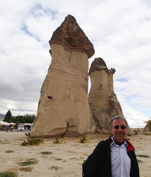 Cappadocia - Pasabag Valley, fairy chimneys