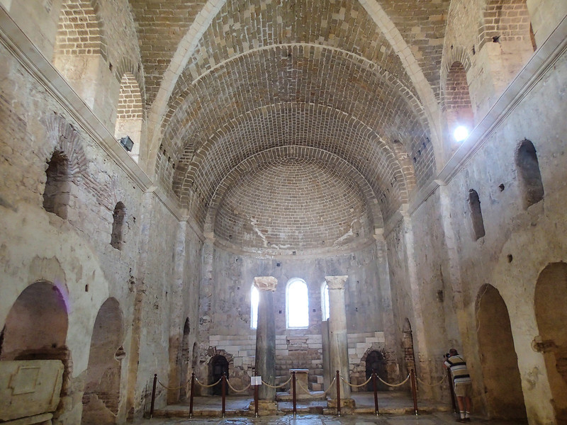 St. Nicholas Church, Demre - is an ancient Byzantine Church. Its usage is dated between 5th-12th centuries