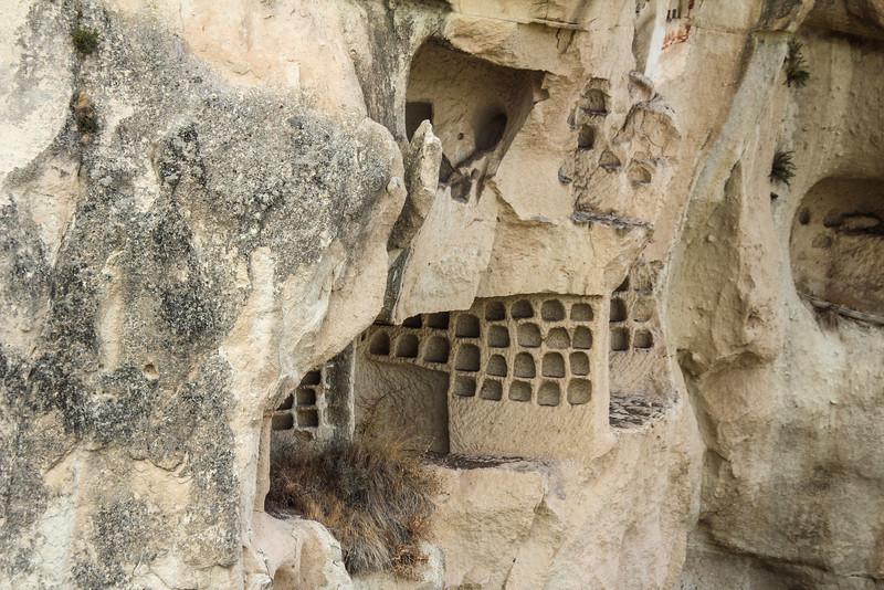 Cappadocia, pigeon houses