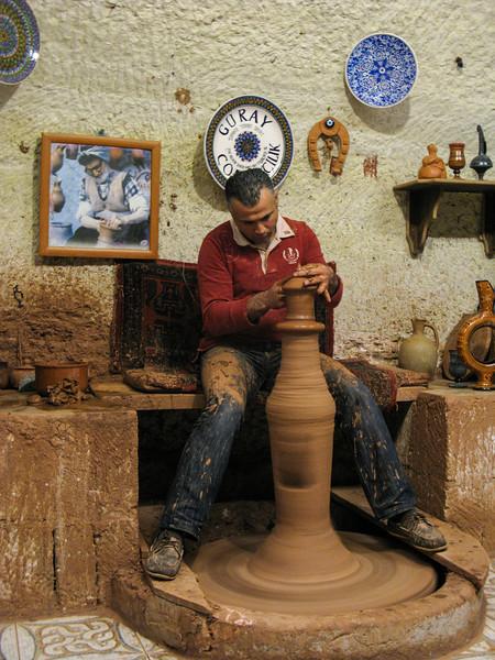 Cappadocia - Pottery demonstration in Avanos