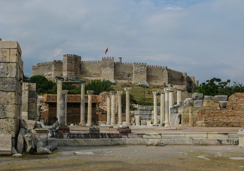 The Basilica of St. John in Selck, constructed by Justinian I in the 6th century. It stands over the believed burial site of John the Apostle.