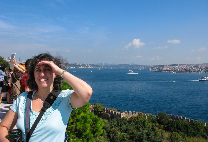 Bosphorus view from Topkapi