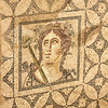 Ephesus, The Terrace Houses - Roman emperor, floor mosaic