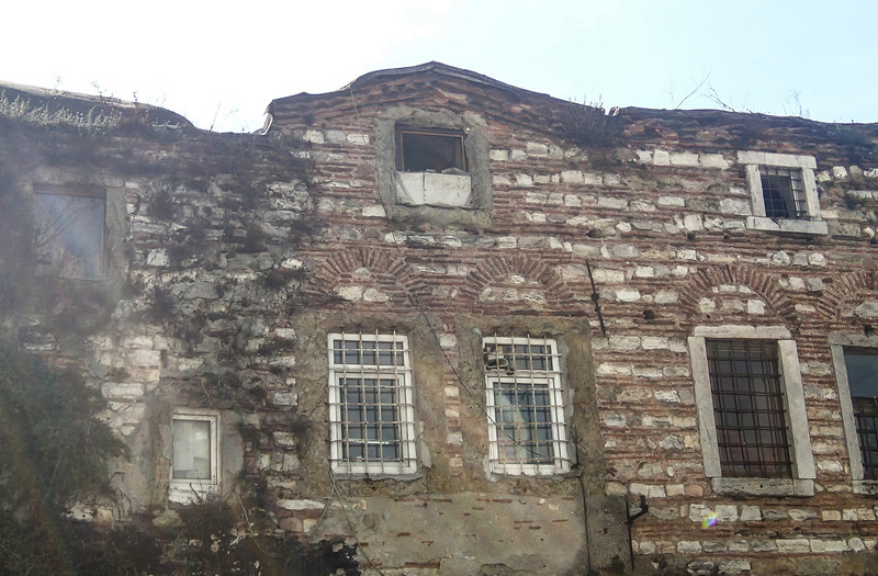 Old buildings outside Rustem Pasa