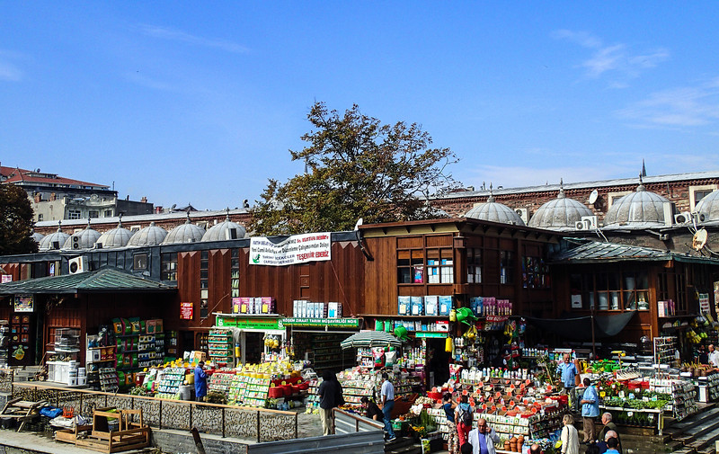 The Spice Bazaar, next to Yeni Camii