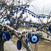 Cappadocia, tree with evil eye charms