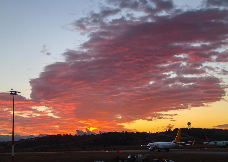 Very early flight to Cappadocia