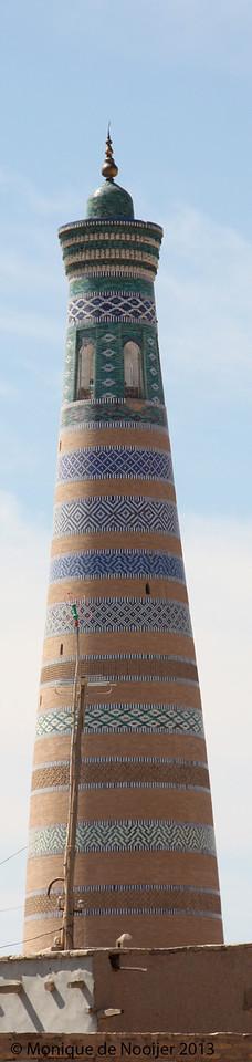 Juma Minaret in Khiva.