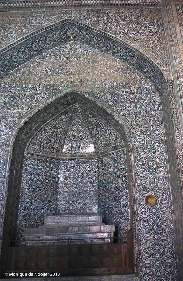 Pahlavan Mahmud Mausoleum in Khiva.