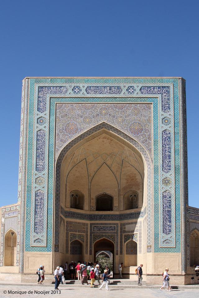 Kalyon Mosque in Bukhara.