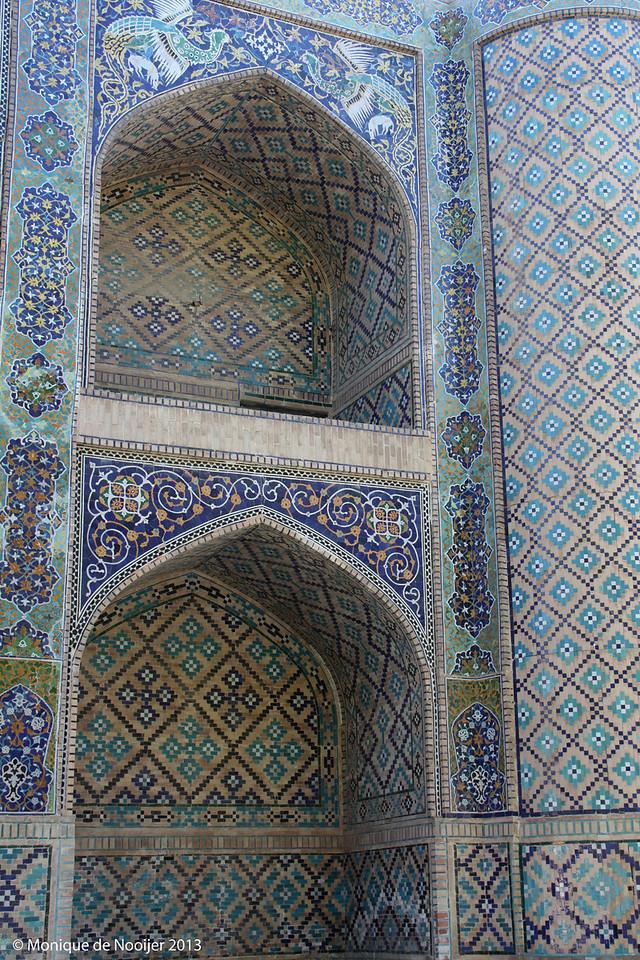 Lyabi Hauz Chaikhana in Bukhara.