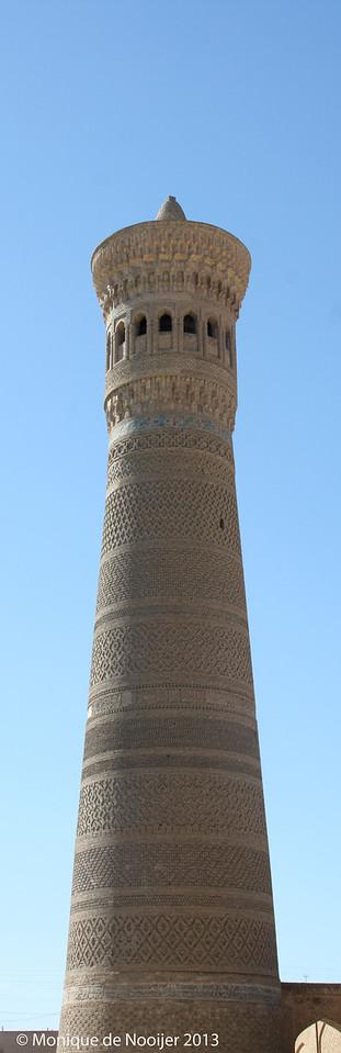 Kalyon Minar in Bukhara.
