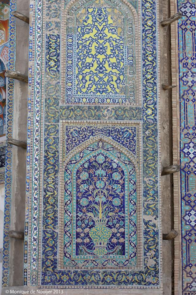 Ulug Beg Madrassa in Bukhara.
