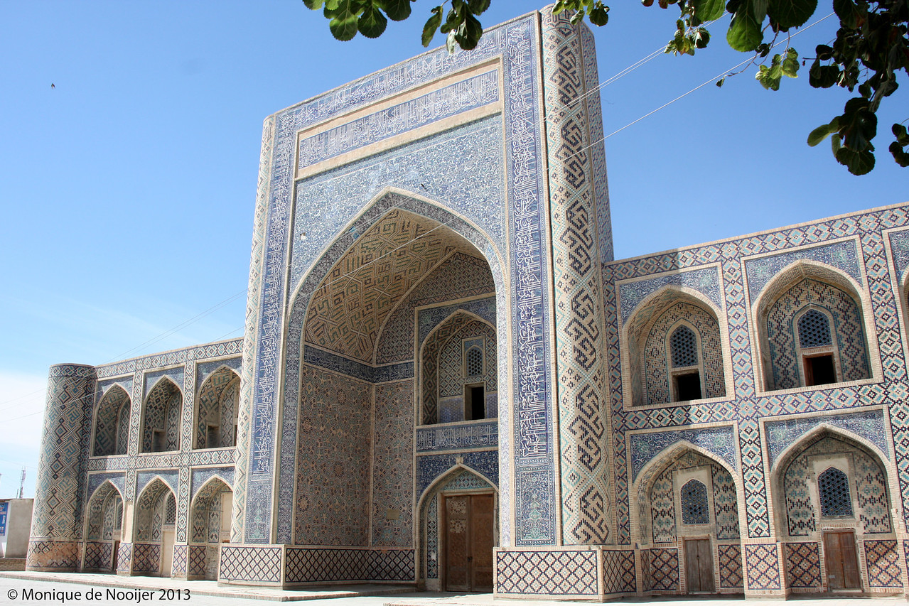 Abdullah Khan Madrassa in Bukhara.