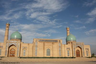 Tellya Sheikh Mosque, Hazrat Imam Complex in Tashkent.