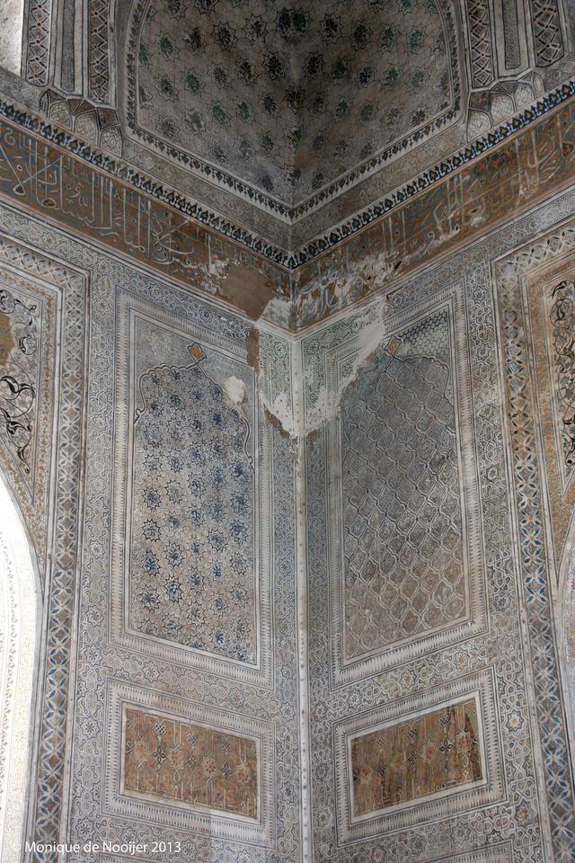 Gumbazi Seidon, a mausoleum in Shakhrisabz.