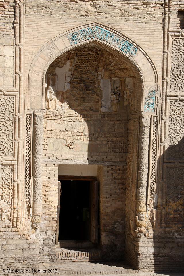 Magokiattari Mosque in Bukhara.