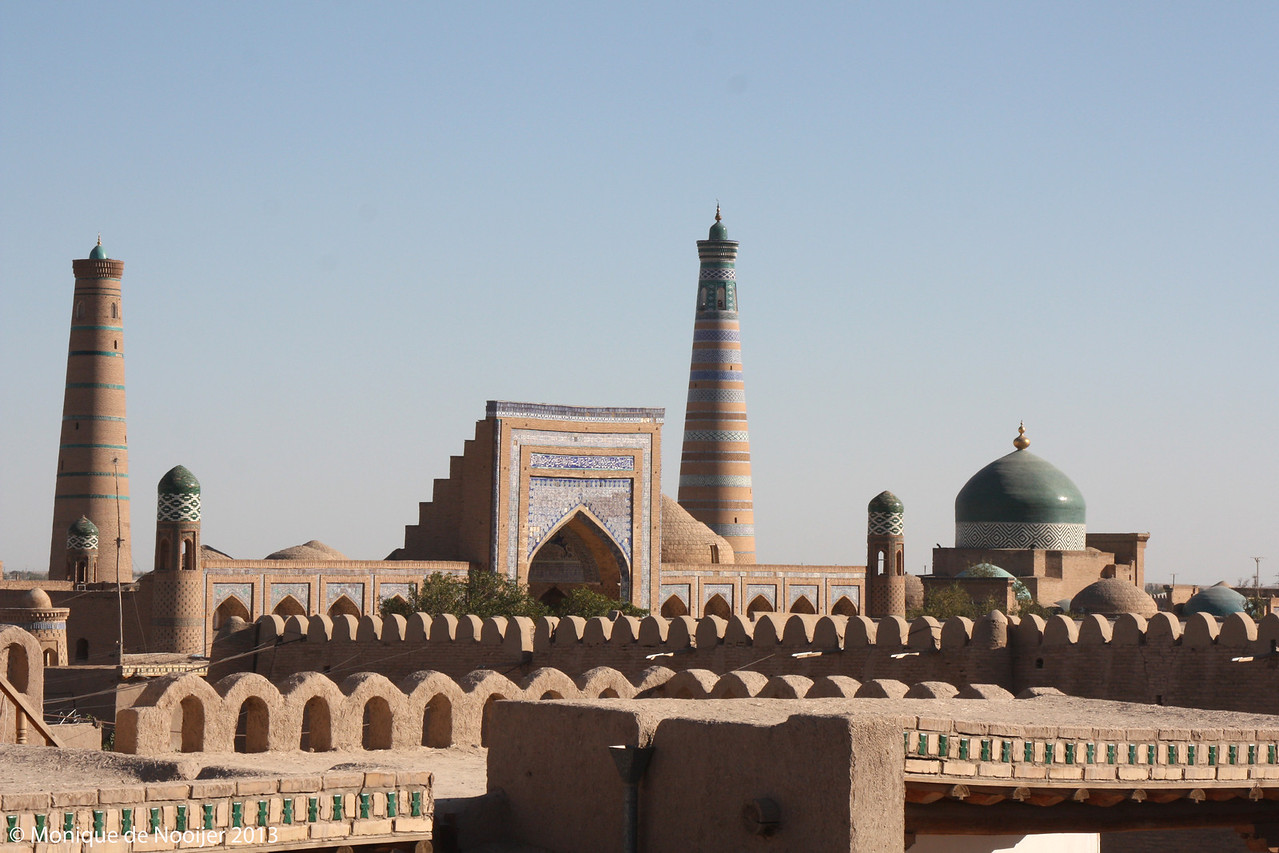 View from the City Walls of Khiva.