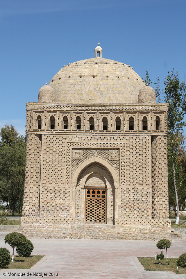 Ismail Samani Mausoleum in Bukhara.
