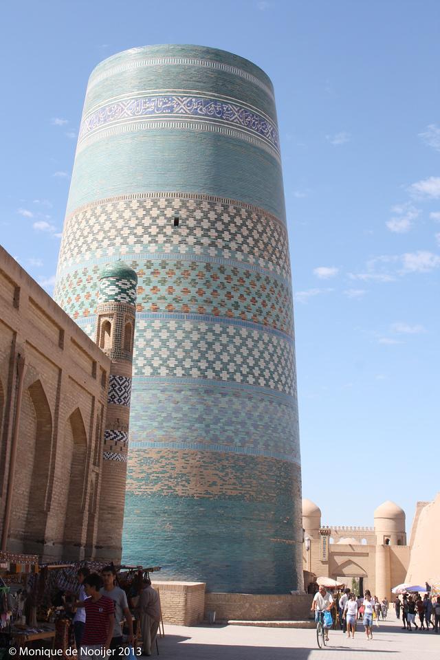 Kalta Minar in Khiva.