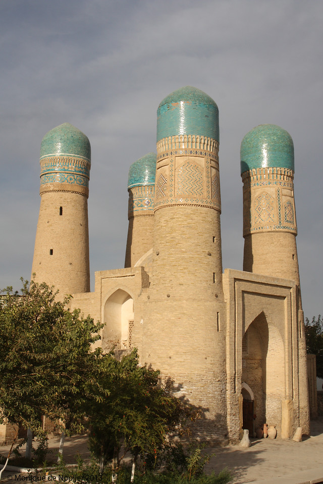 Chor Minor in Bukhara.