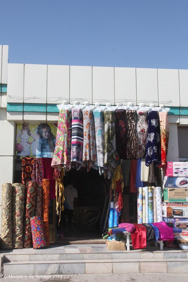 The bazaar in Bukhara.