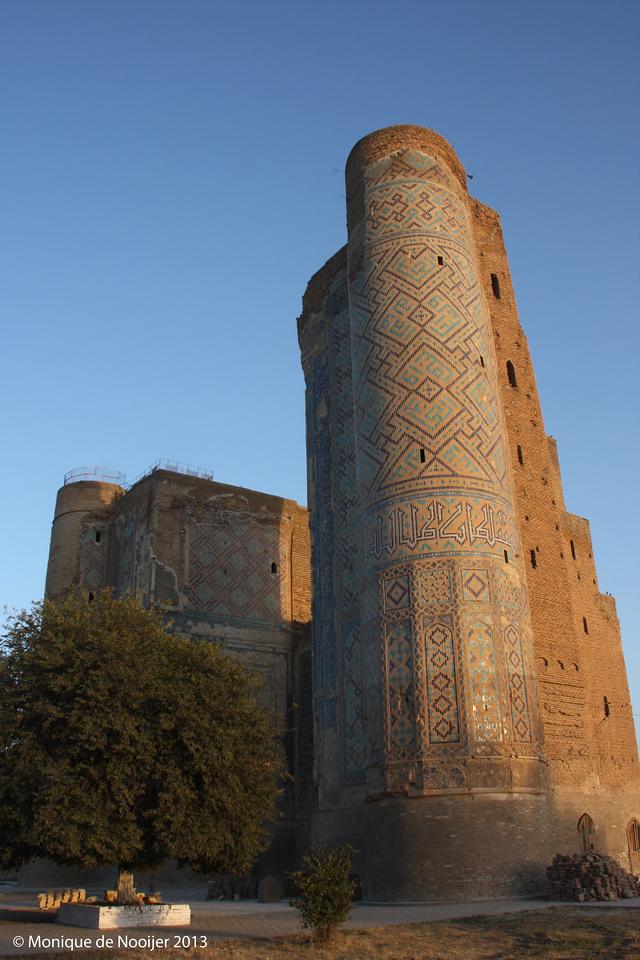 Ak Serai Complex (white palace) in Shakhrisabz.
