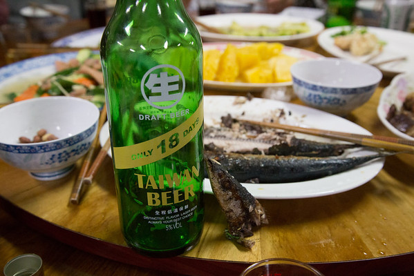 Better meals through fish and beer