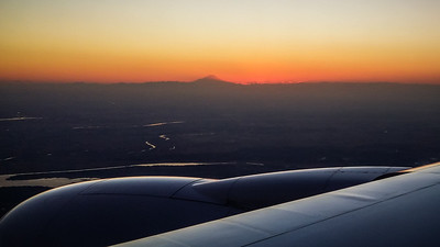 Mt Fuji skyline