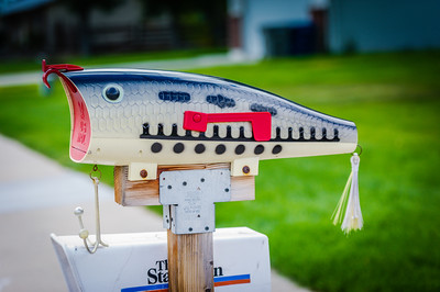 Fishing Lure Mailbox