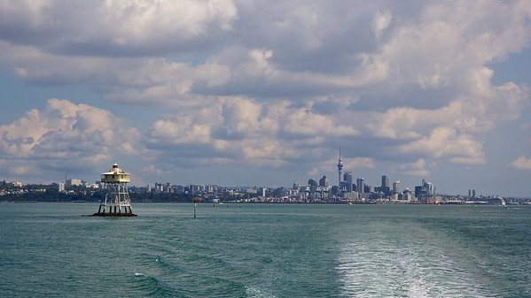 Lighthouse and Waterfront, Auckland