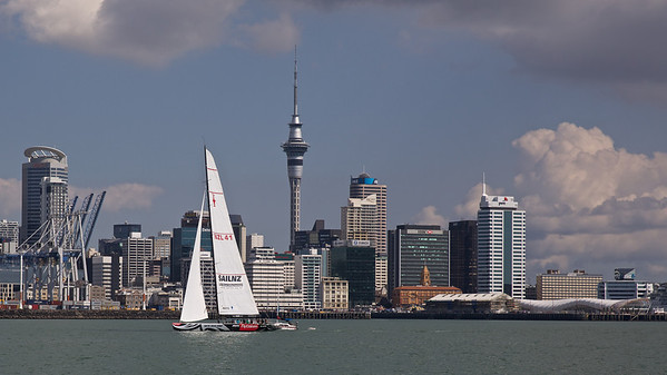 America's Cup Boat, Auckland