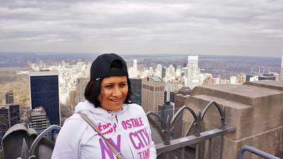 On the 77th floor of Rockefeller center