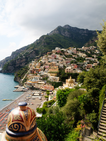 Positano from East