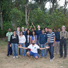 Team photo at a coffee plantation near Coorg.