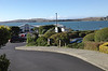 Looking at Bodega Bay and The Tides Wharf Restaurant from The Tides Inn