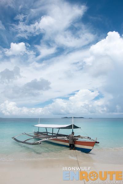 Calaguas Boat