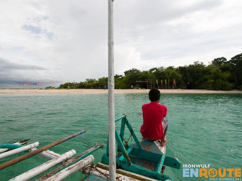 Approaching Mantigue Island