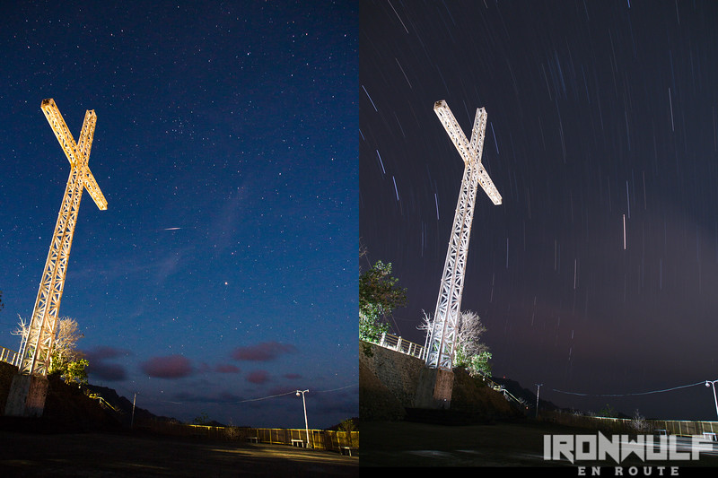 The cross and the stars