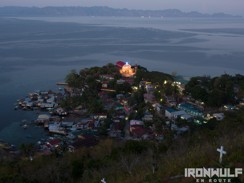 Culion Town at dusk