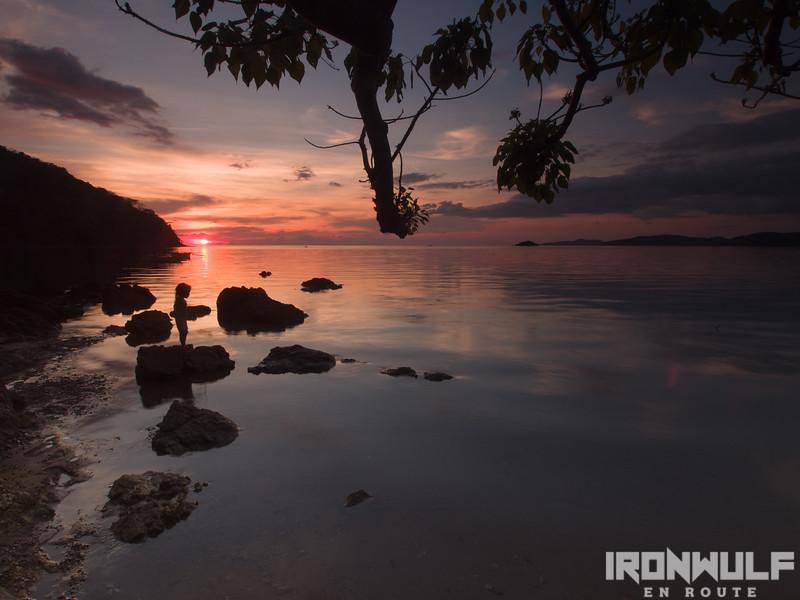 Sunsetting at Lele