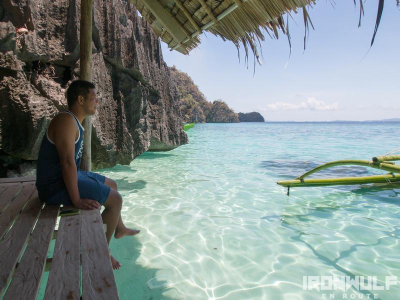 Finding myself back in Banol beach Coron