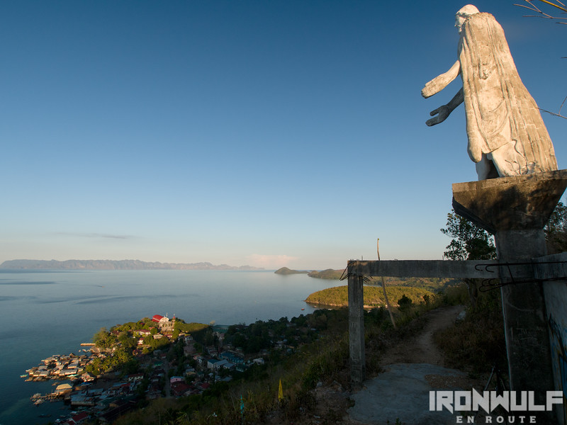 Christ the Redeemer overlooking the town