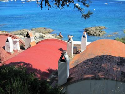 Beaches near Palamos, Spain.