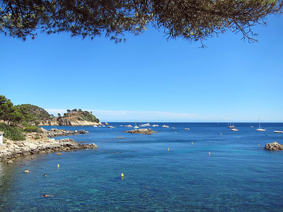 Beaches near Palamos, Spain.
