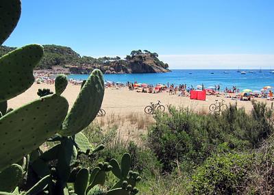 Cala de Castell, near Palamos, Spain.