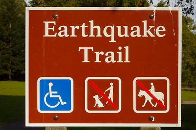 Earthquake Trail Point Reyes Jan 2013