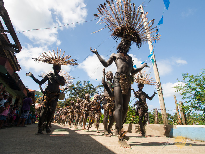 Tribo Purok A on Parade