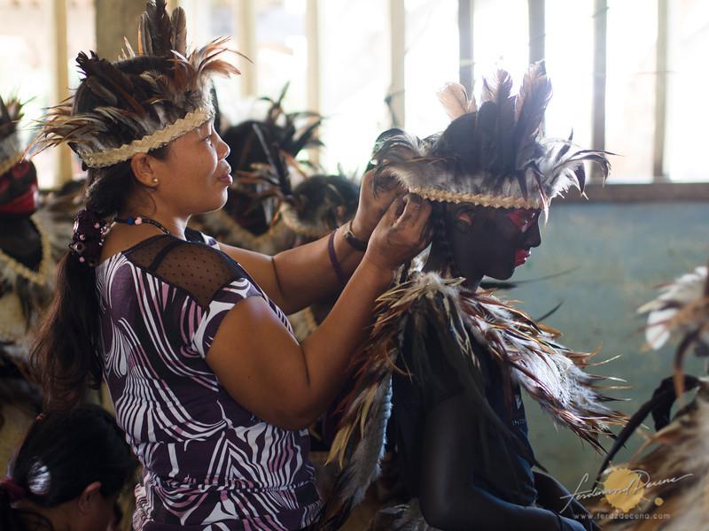 Purok Taberna's Tribo Katutubong Ati preparation